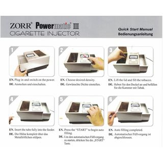 ZORR Powermatic III plus Elektrische Stopfmaschine